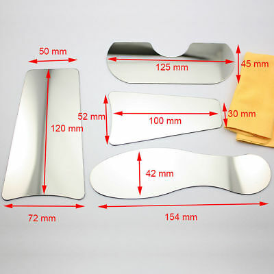 1 Set Dental Intra-Oral Orthodontic Photography Mirror Stainless Steel Reflector