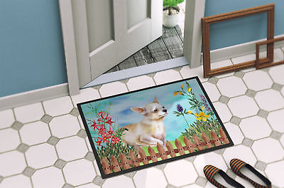 Chihuahua Leg up Spring Indoor or Outdoor Mat 18x27