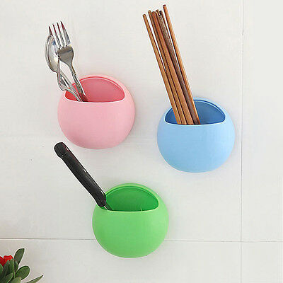 Wall Mounted Storage Boxes Cups Toothbrush Holder For Pens Cosmetic Small items