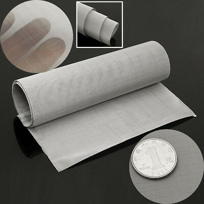 100 Micron Mesh Stainless Steel Woven Wire Cloth Screen Filter Sheet 300 x 900mm