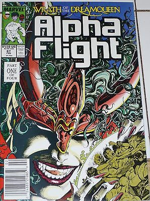Alpha Flight #67 (Feb 1989, Marvel), q53