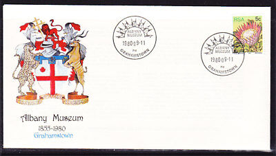 South Africa 1980 Albany Museum  First Day Cover