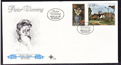 South Africa 1980 Pieter Wenning   First Day Cover  #3.21