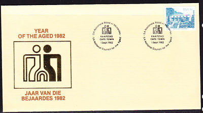 South Africa 1982 Year of the aged First Day Cover