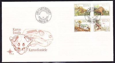 South Africa 1982 Karoo Fossils  First Day Cover #4.2