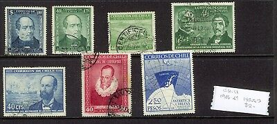 Chile 1945 Issues Used