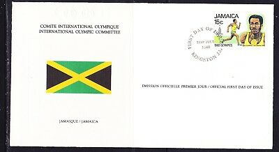 Jamaica 1980 Olympic Games Souvenir Cover