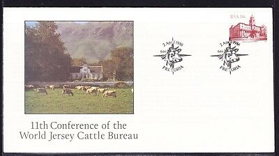 South Africa 1986 World Jersey Cattle Bureau  First Day Cover