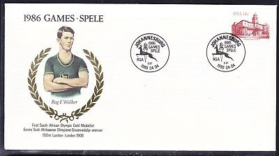 South Africa 1986 Spele Games First Day Cover