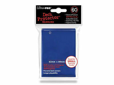 Ultra Pro Deck Protector Small Sleeves DARK BLUE YuGiOh Cards 60ct Pack 62x89mm