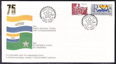 South Africa 1987 Defence Force First Day Cover