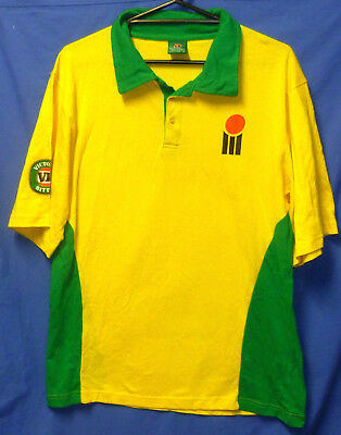 "New Retro Australian WSC One Day Cricket Shirt Boony Army VB Mens 42"" Medium"