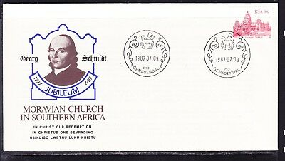 South Africa 1987 Moravian Church First Day Cover