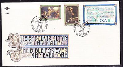 South Africa 1987  The Bible  First Day Cover #4.23
