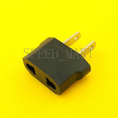 EU/AU European To US Travel Charger Power Adapter Converter Wall Plug Home