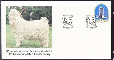 South Africa 1988 Mohair Industry  First Day Cover