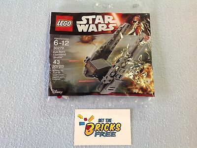 Lego Star Wars 30279 Kylo Rens Command Shuttle Polybag New/Sealed/Hard to Find