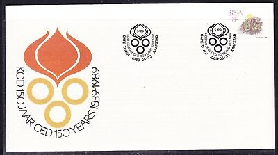 South Africa 1989 JARCED 150 Years First Day Cover