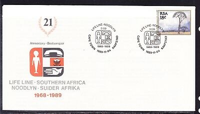 South Africa 1989 Life Line First Day Cover