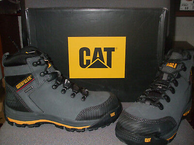 Clothing, Shoes & Accessories Caterpillar Cat Munising S3 Src Mens Steel Toe Cap Waterproof Safety Boots Ppe