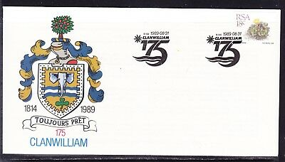South Africa 1989 Clan William First Day Cover