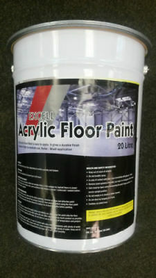 Acrylic Floor Paint 20ltrs - VARIOUS COLOURS