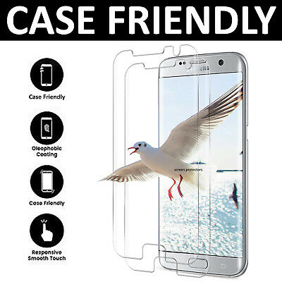 For Samsung Galaxy S6 Edge 3D Full Curved Tempered Glass Screen Protector