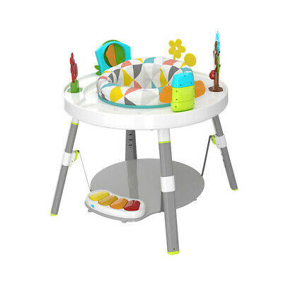 3 in 1 Baby's View 3-Stage Activity Centre Rotating Seat Piano Play Toys Table