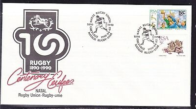 South Africa 1990 Rugby Union Centenary First Day Cover