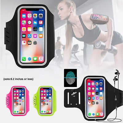 Sports Gym Armband Running Jogging Case Cover Holder iPhone Samsung Phone 3D