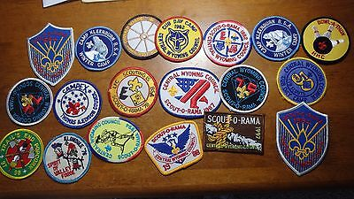 Boy Scout Of America Cub Scouts  Council Order Of Arrow 19 Patches    Bx D 165