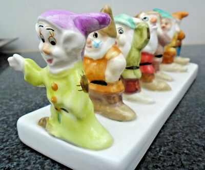 Clover and Disney Novelty Seven Dwarfs Toast Rack