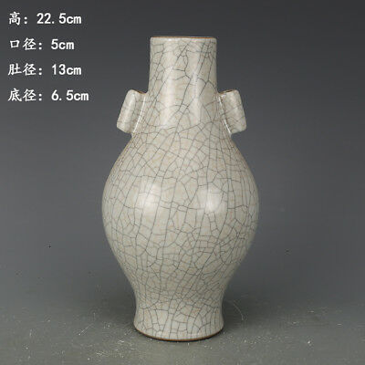 Chinese ancient antique hand make porcelain  glaze  vase