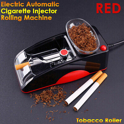 Electric Automatic Cigarette Injector Tobacco Roller Rolling Vogue Machine Maker