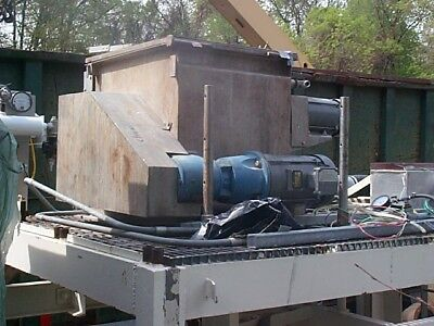 2 cu.ft. Halvor/Forberg Jacketed Fluidizing Mixer, Stainless Steel