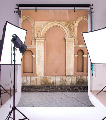 Vinyl Photo Backdrops Vintage Brown Wall Photography Background Studio Props 2x3