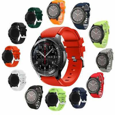Silicone Sweat Bracelet Strap Watch Band For Samsung Gear S3 Frontier/Classic
