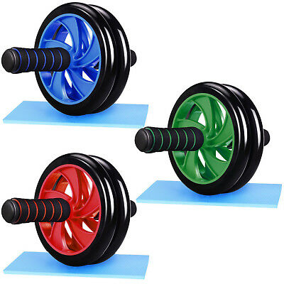 Ab Roller Wheel With Free Knee Pad For Abdominal Core Exercise Strength Training