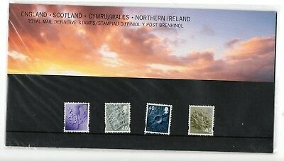 GB 2004 Four Regions Definitives Presentation Pack No 68 VGC stamps Free postage