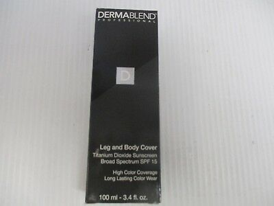 DERMABLEND BEIGE SPF 15 LEG AND BODY COVER  3.4 oz JL 5871
