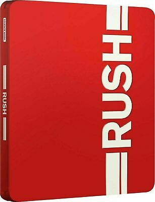 Rush - Limited Edition Steelbook [Blu-ray + DVD] New and Sealed!!