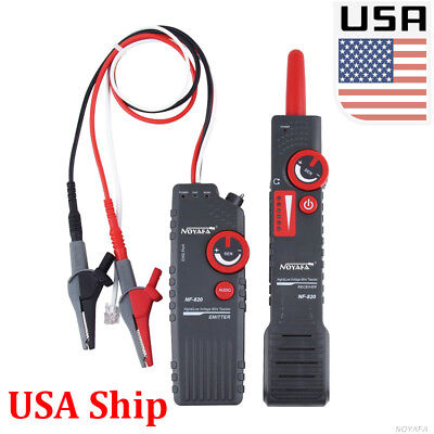 USA Ship NF-820 Wire Tracker Locate Underground Cable Tracker High&Low Voltage