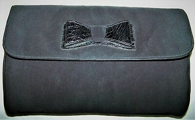 "Borsa ""Gianni Versace"" Luxury Vintage Black Hand Bag 100% Made In Italy"