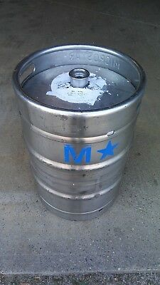 Microstar Stainless 15.5 Gallons Commercial Keg Made In Germany (Used)