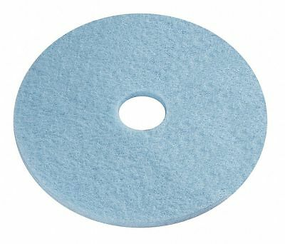 """Tough Guy 6YMT6 17"""" Plastic Polyester Fiber Round Burnishing Pads 