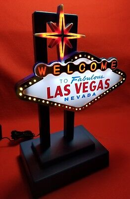 Welcome To Fabulous Las Vegas Nevada Light-Up And Flashing Sign!