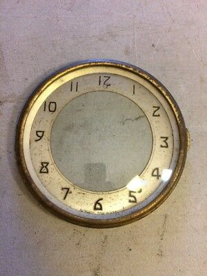Seth Thomas Plymouth Mantle Clock Dial And Bezel With Glass From Westminster