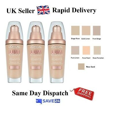 !!RRP£10.99!! L'Oreal Lumi Magique Foundation 30ml - Choose Your Shade
