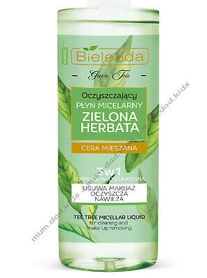 Bielenda Green Tea Cleansing Micellar Liquid 3in1 Zielona Herbata 500ml