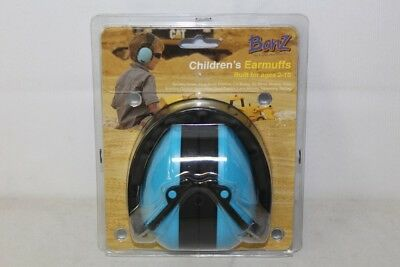 NEW Banz Childrens Earmuffs for Ages 2-10 Blue